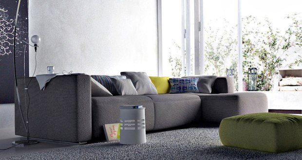 Modern-Living-Room-with-Awesome-Grey-Sofa
